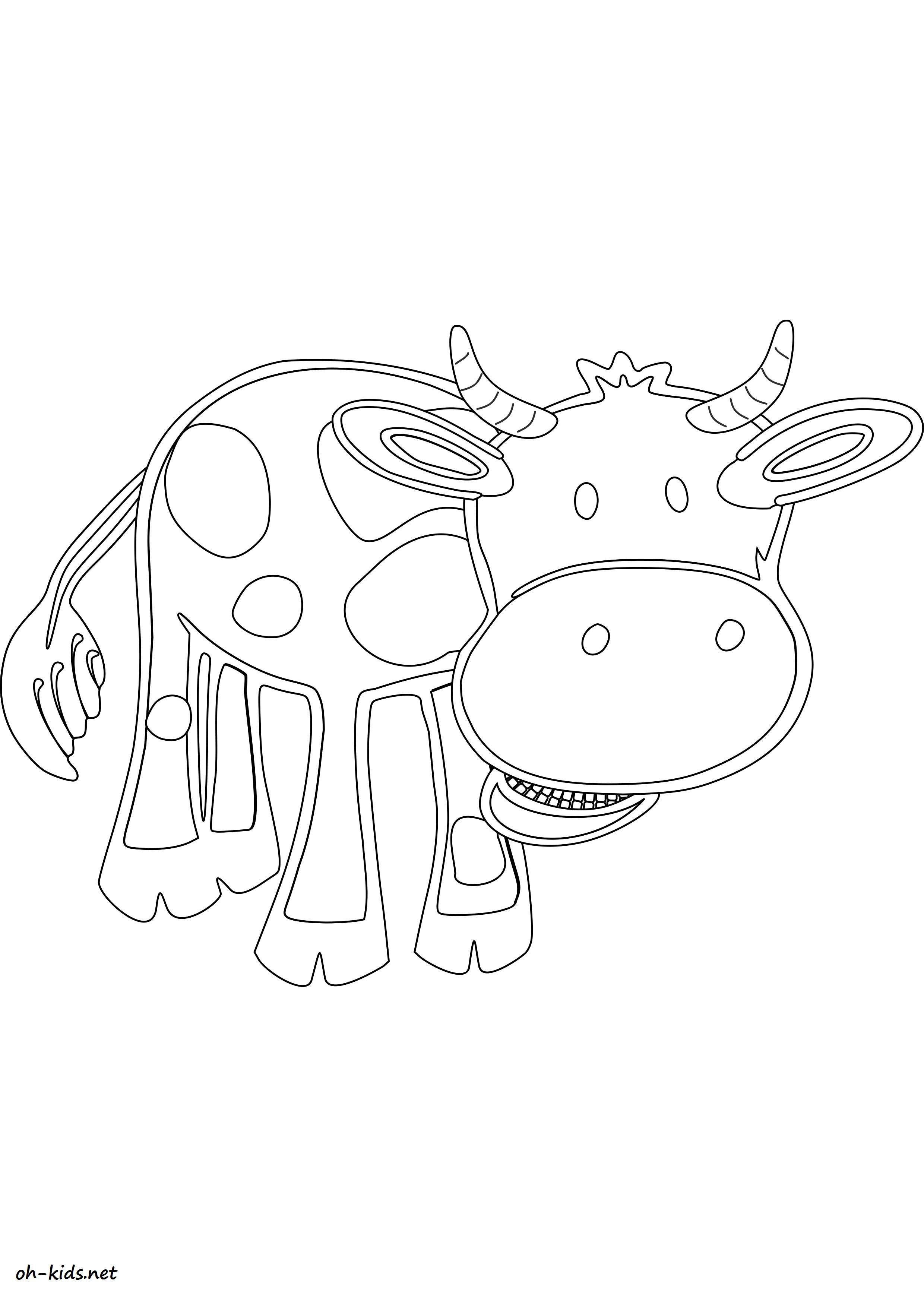 attractive jeux gratuit pour enfants 7 coloriage animaux de la ferme. Black Bedroom Furniture Sets. Home Design Ideas