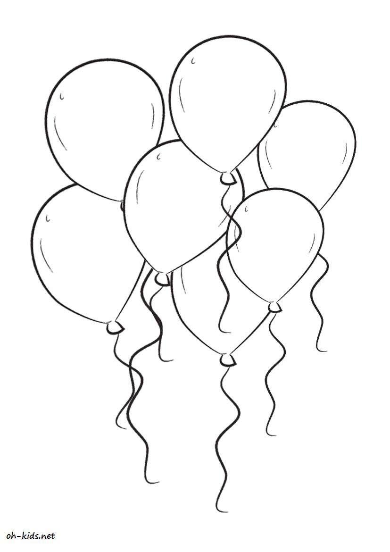 Coloriage gratuit de anniversaire à imprimer - Dessin #179