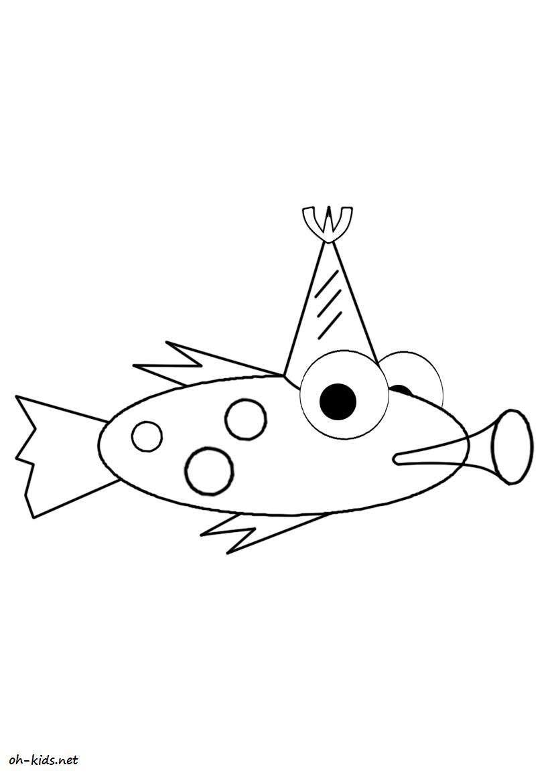 image de anniversaire a dessiner - Dessin #170