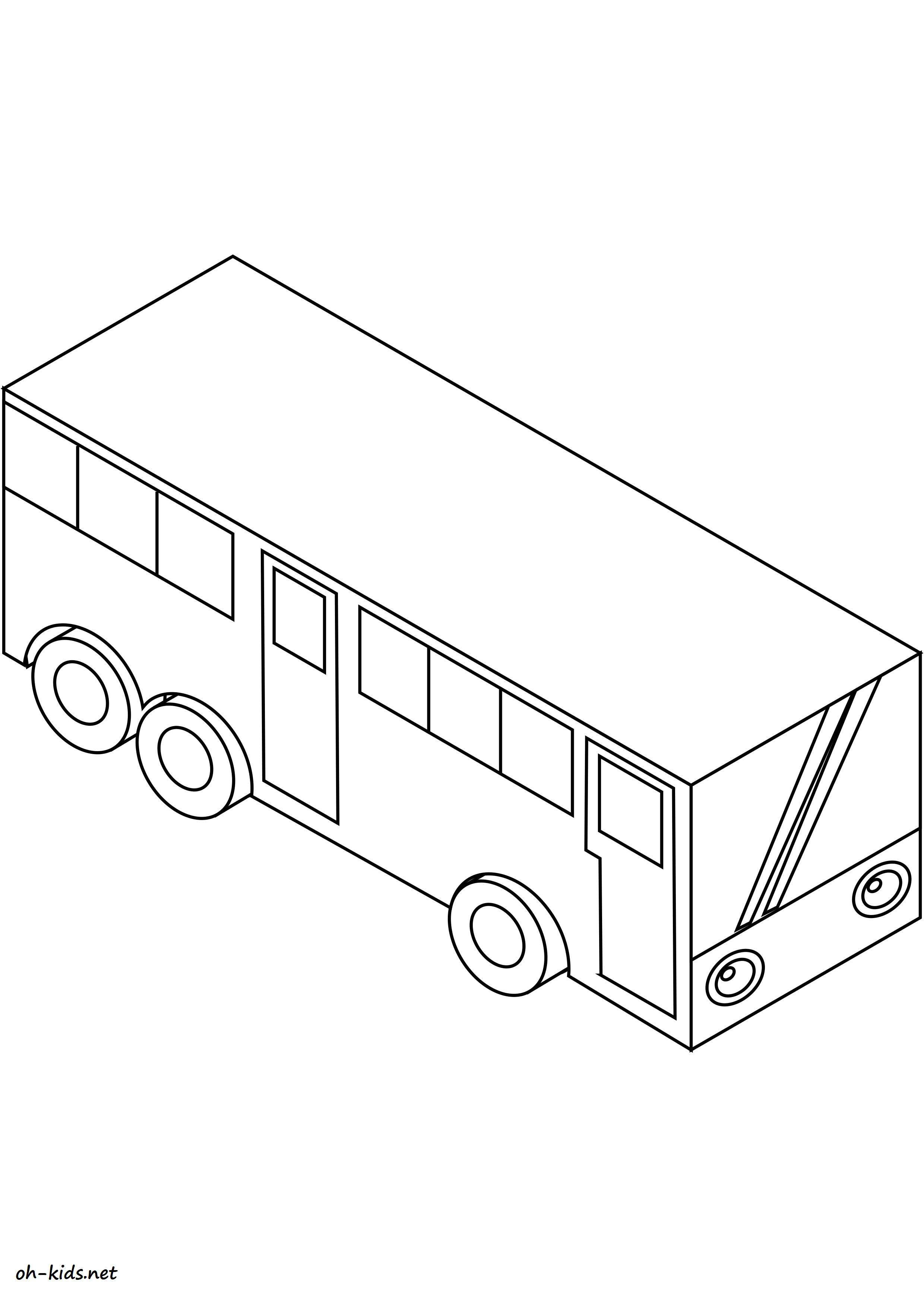 Coloriage transport page 9 of 47 oh kids fr - Autocar dessin ...