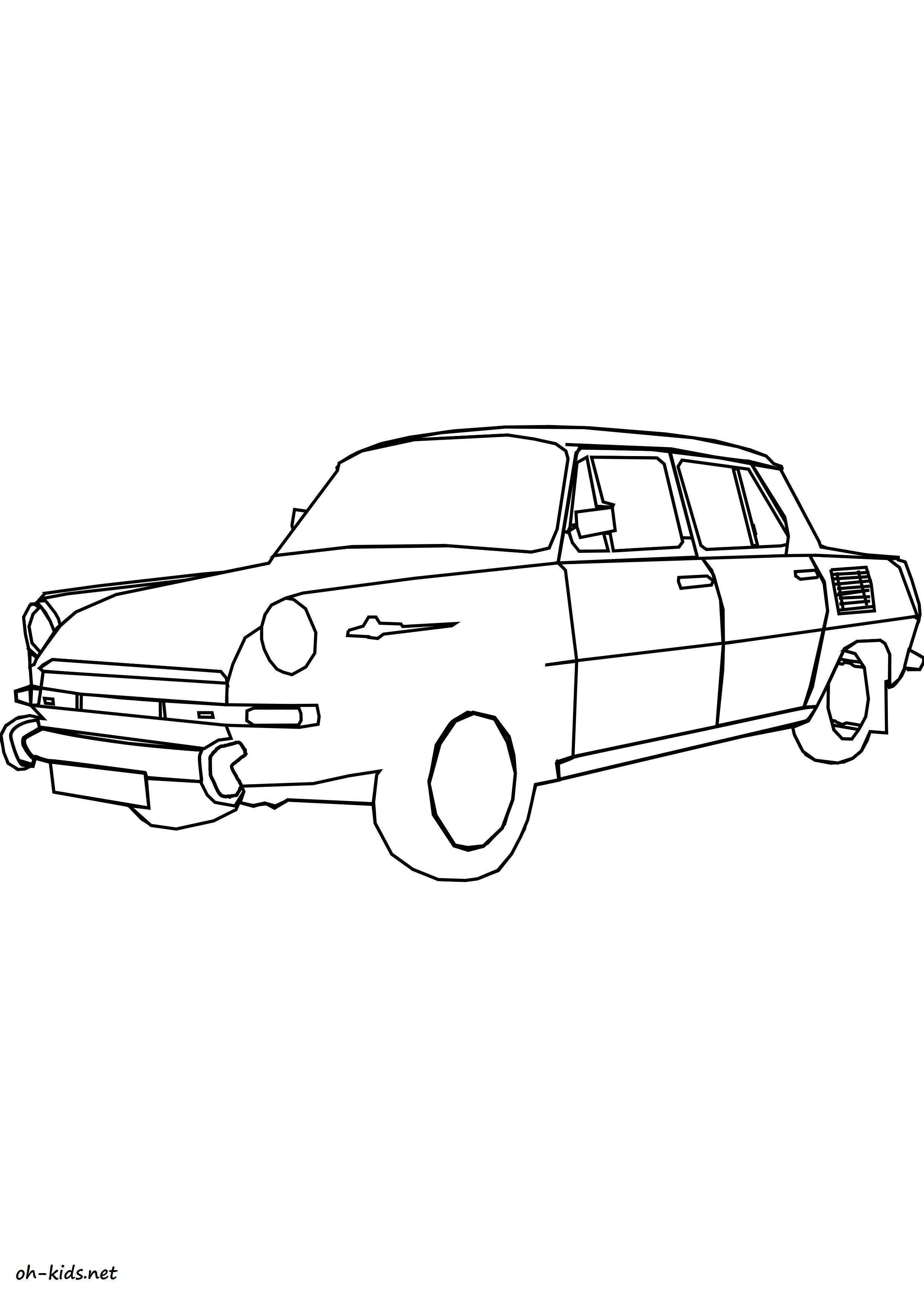 coloriage automobile - Dessin #1427