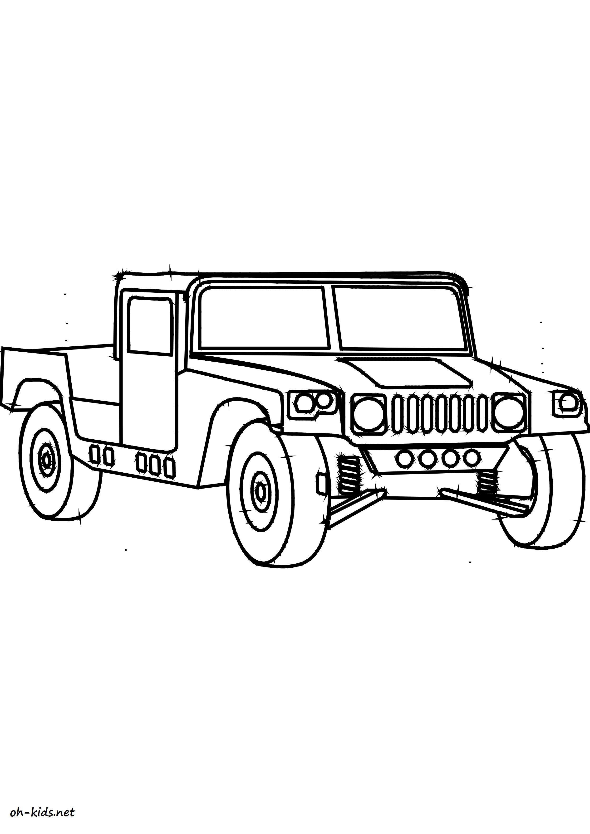 coloriage de automobile à colorier - Dessin #1432