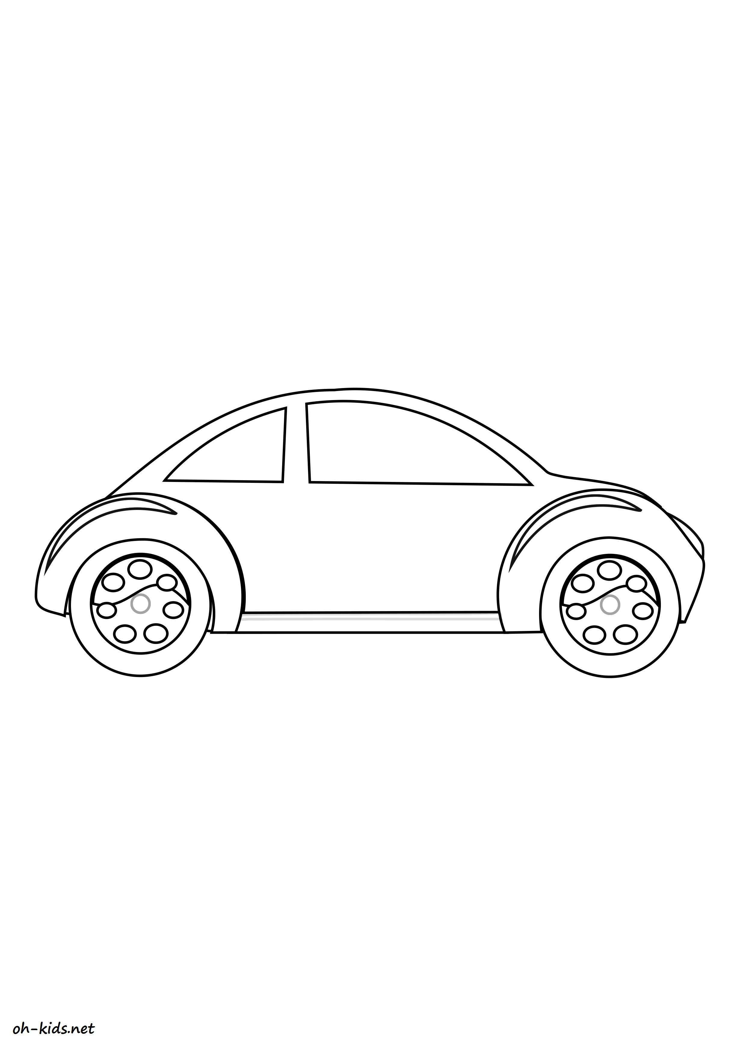 dessin gratuit de automobile a imprimer - Dessin #1417