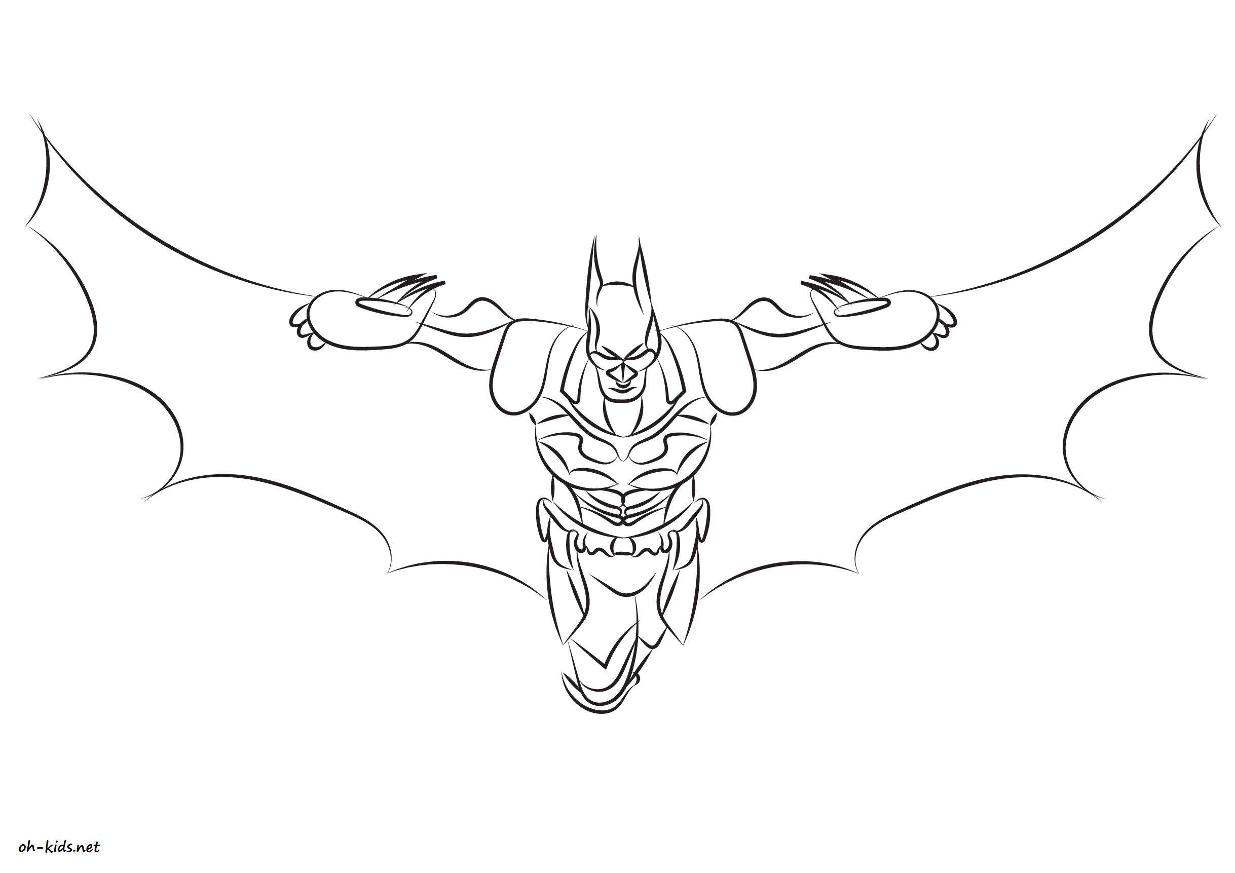 Coloriage batman a imprimer car interior design - Coloriage batman ...