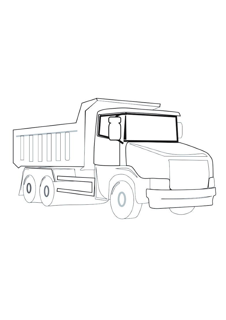 Dessin Camion Benne Coloriage.Dessin Camion Benne Sweet Marylin