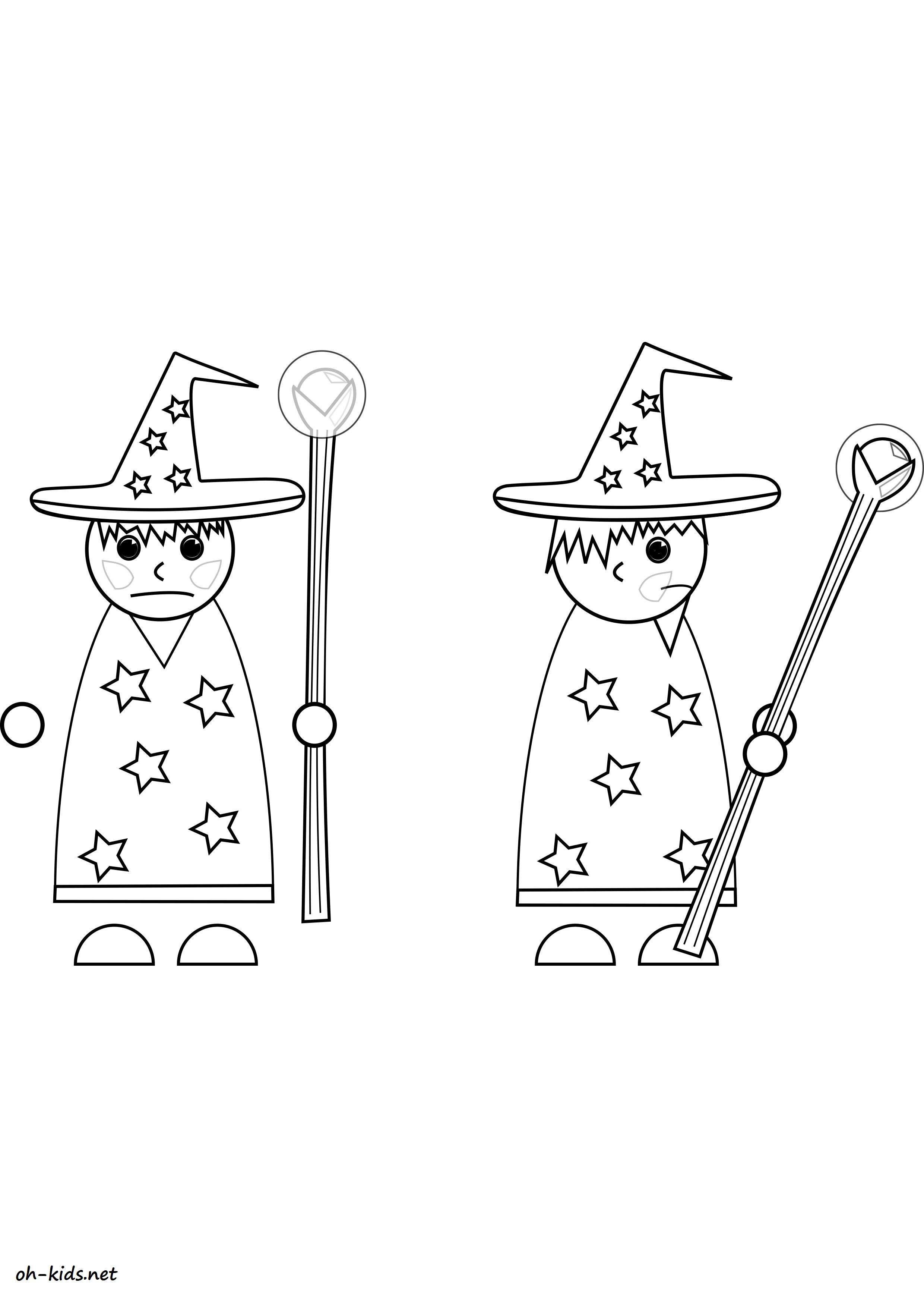 Dessin 596 Coloriage Cirque Magicien à Imprimer Oh Kidsnet
