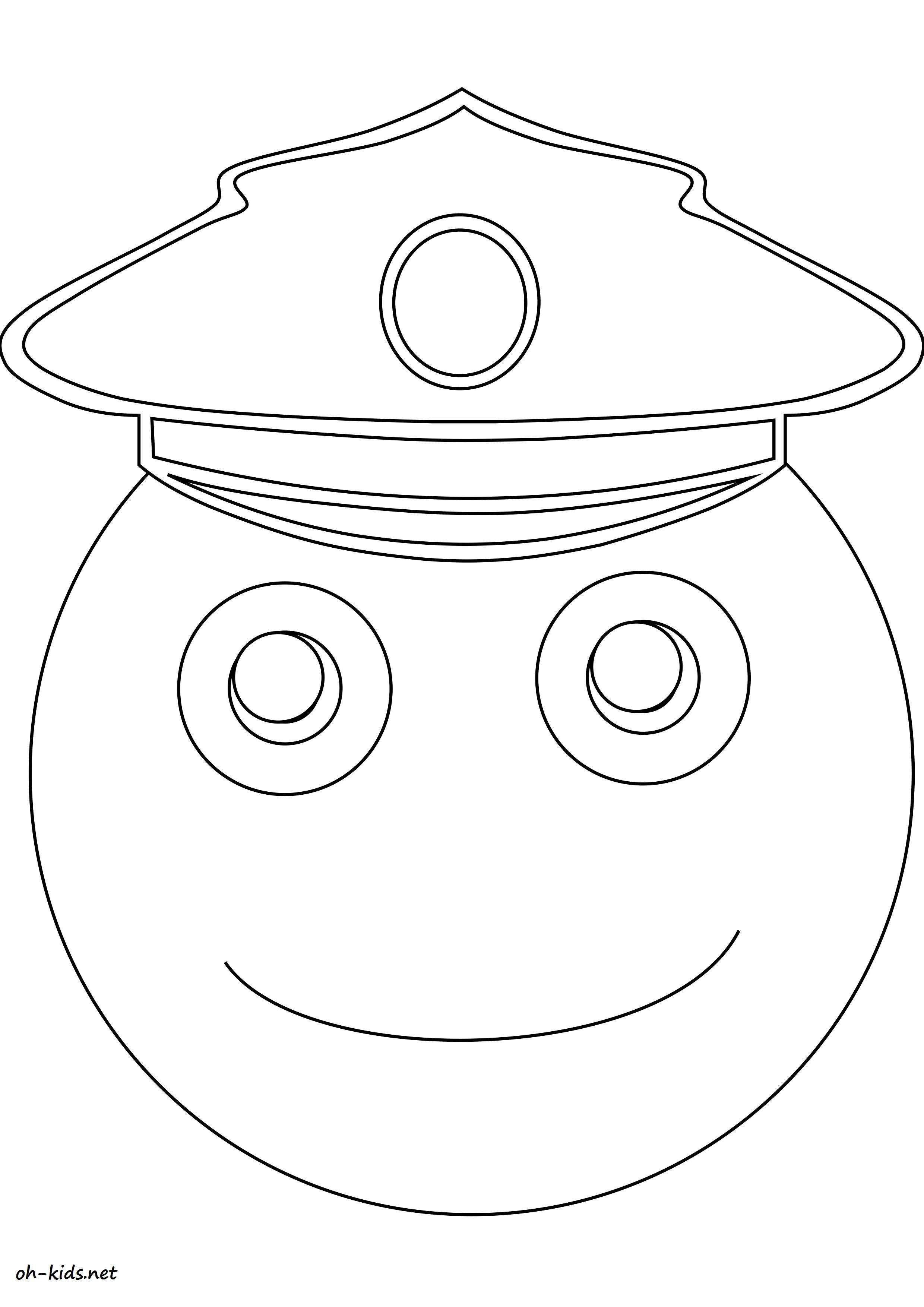dessin gratuit facteur à imprimer - Dessin #1545