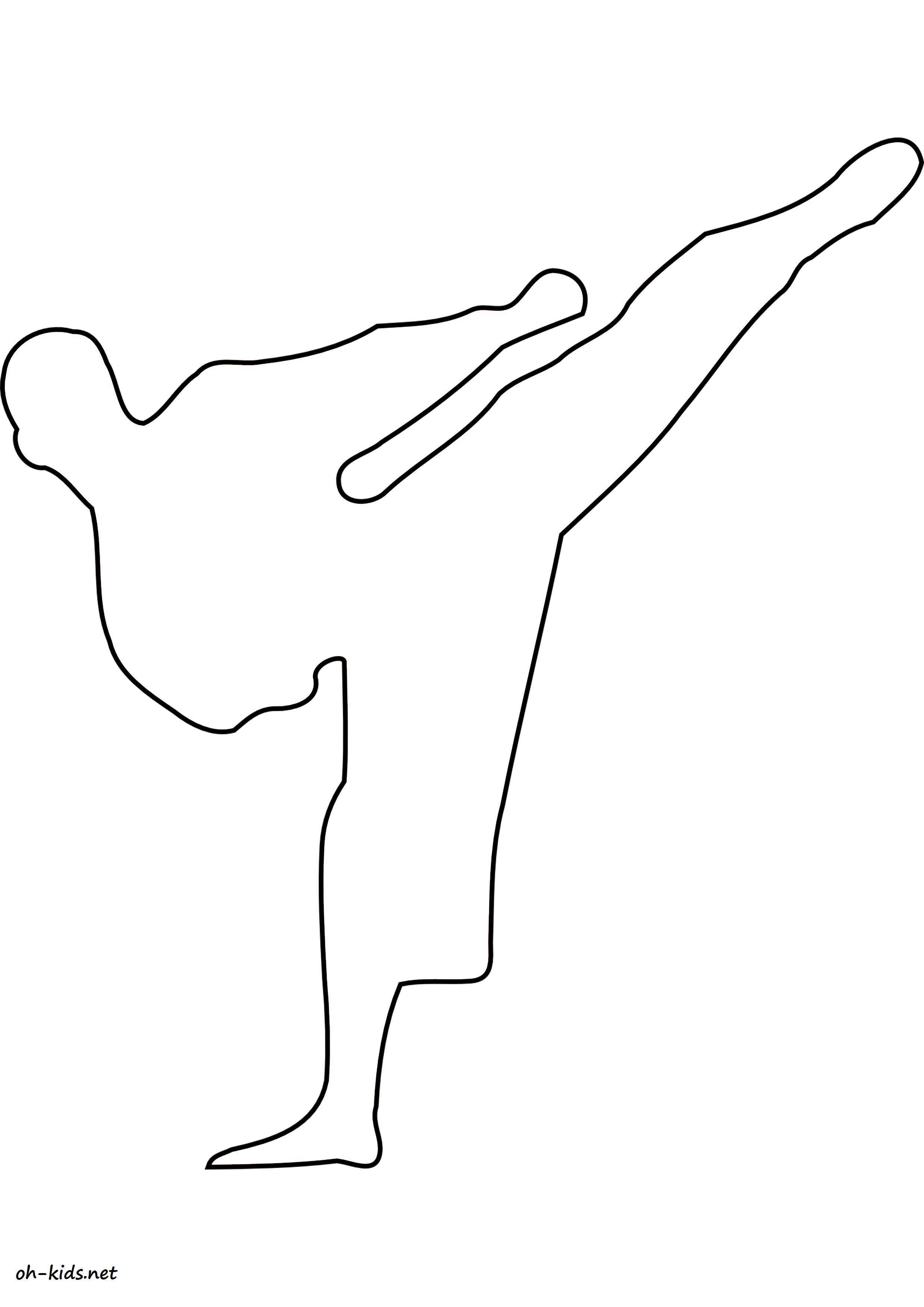 dessin de judo - Dessin #1386