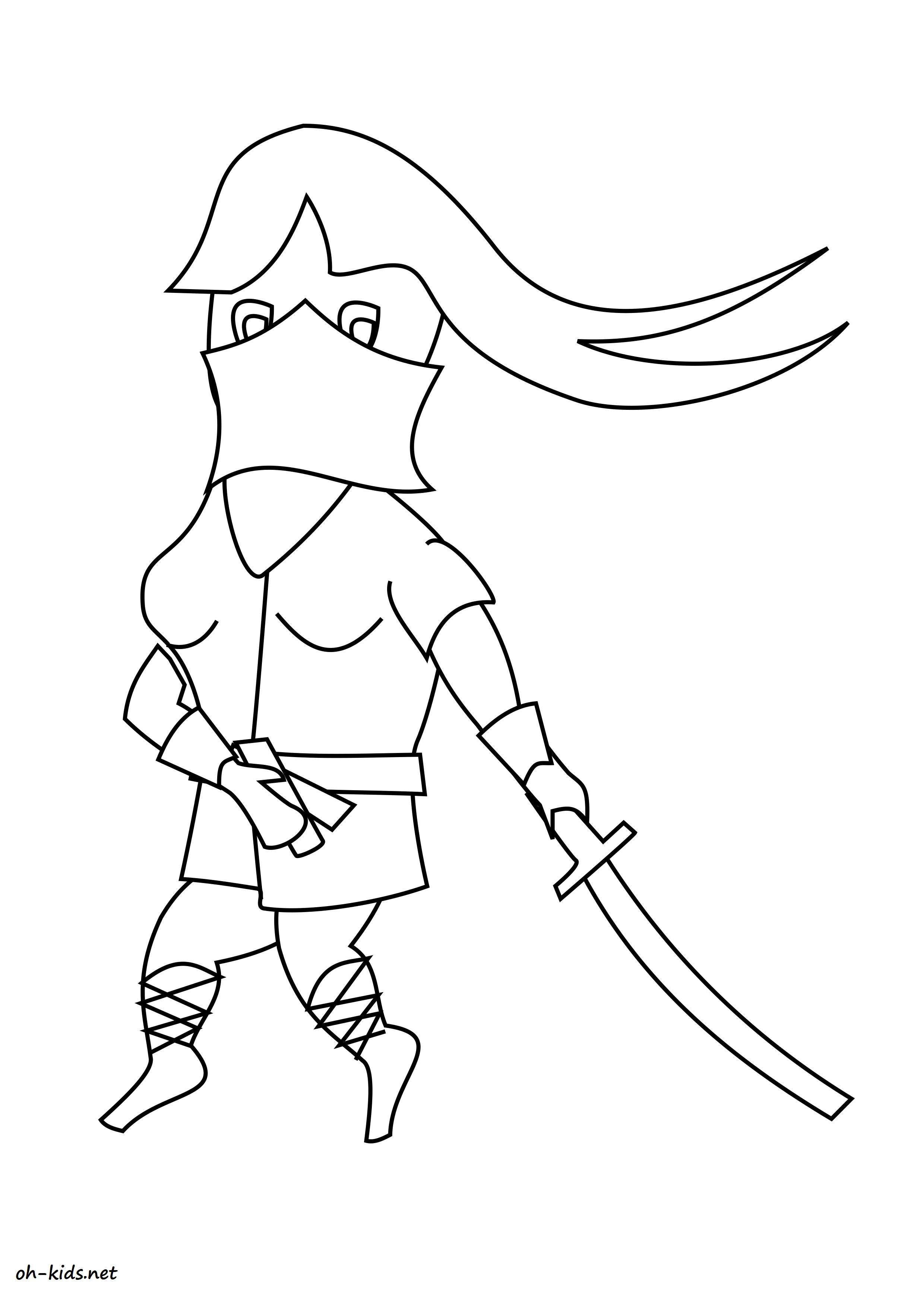 image de karate a dessiner - Dessin #1392