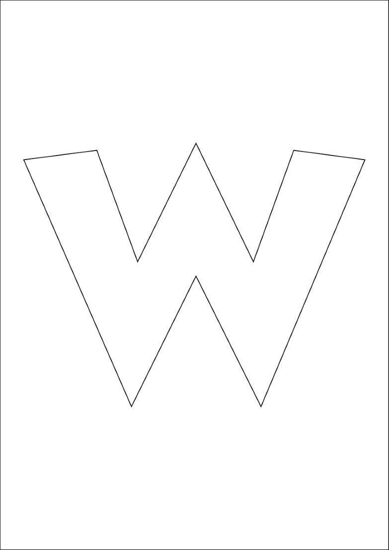 dessin gratuit lettre à imprimer - Dessin #1004