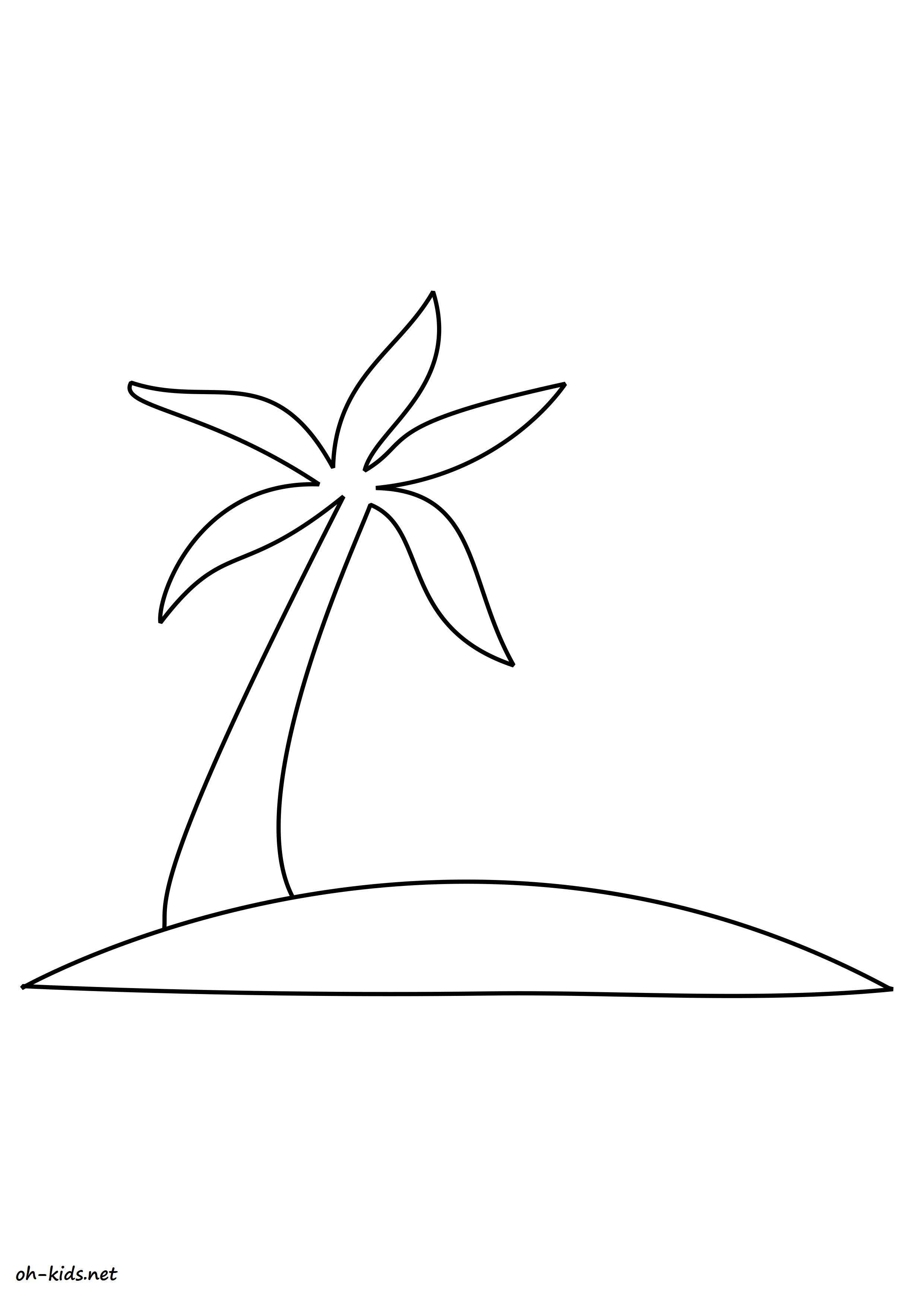 Dessin de plage a imprimer - Dessin #1461