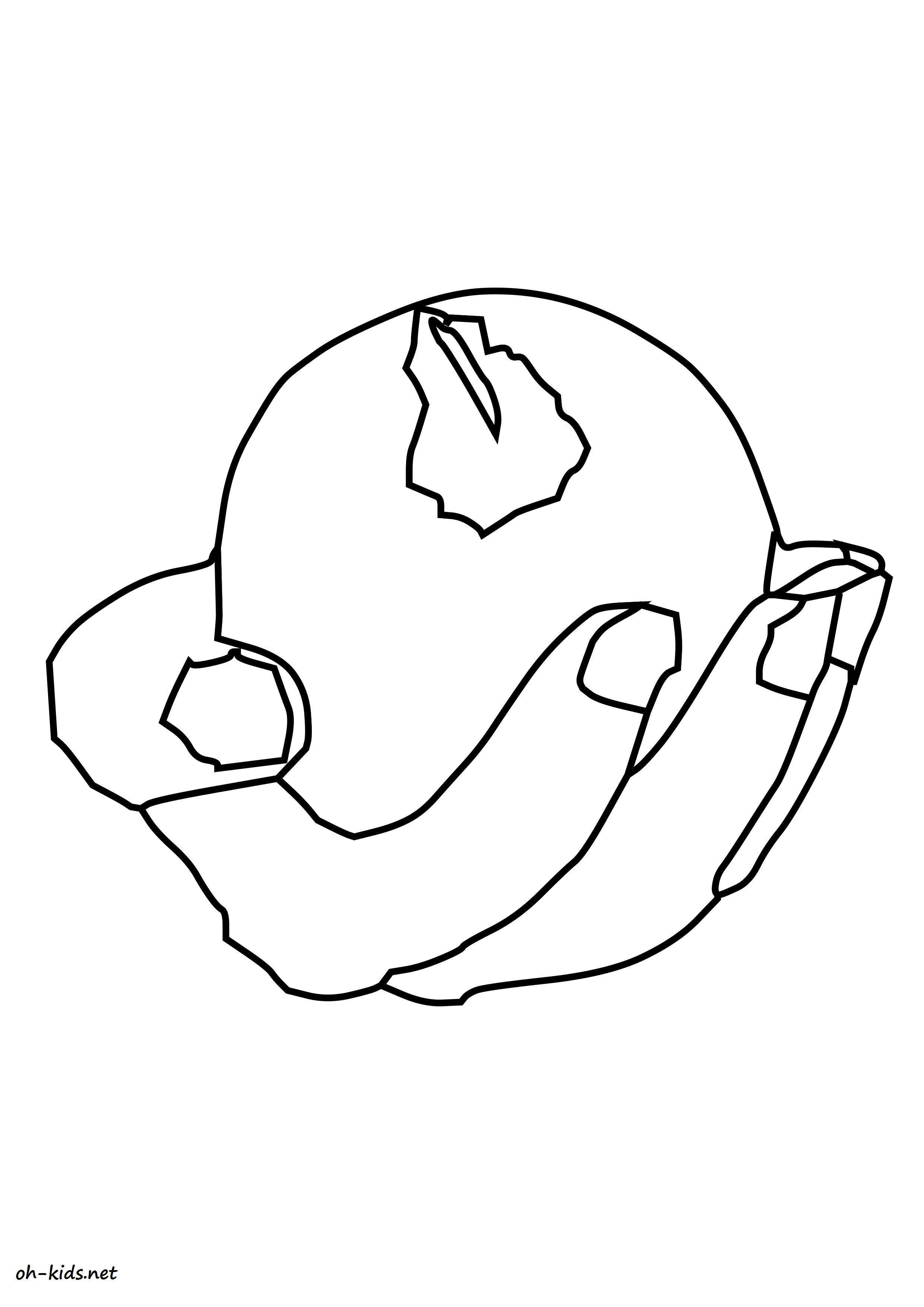 coloriage de pomme a colorier - Dessin #1154