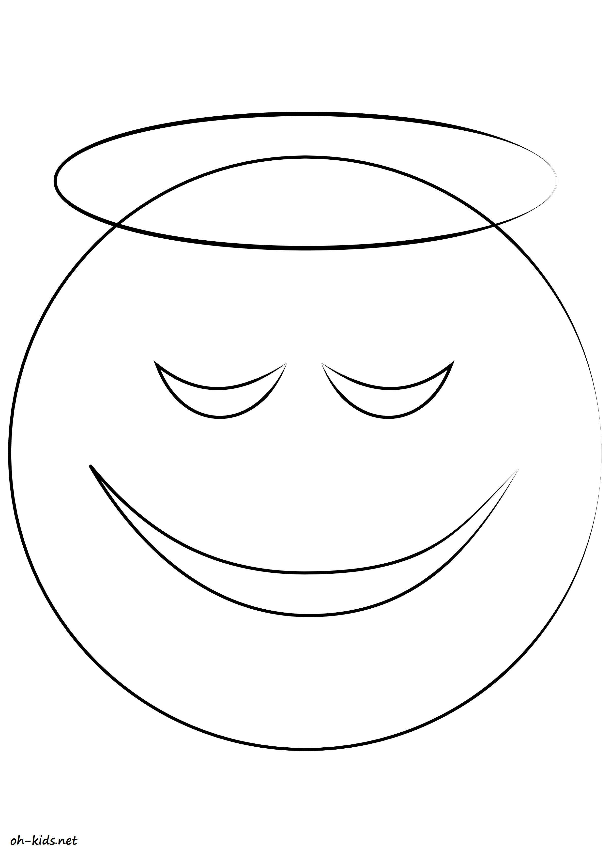 Dessin 756 coloriage smiley imprimer oh - Coloriage de smiley ...