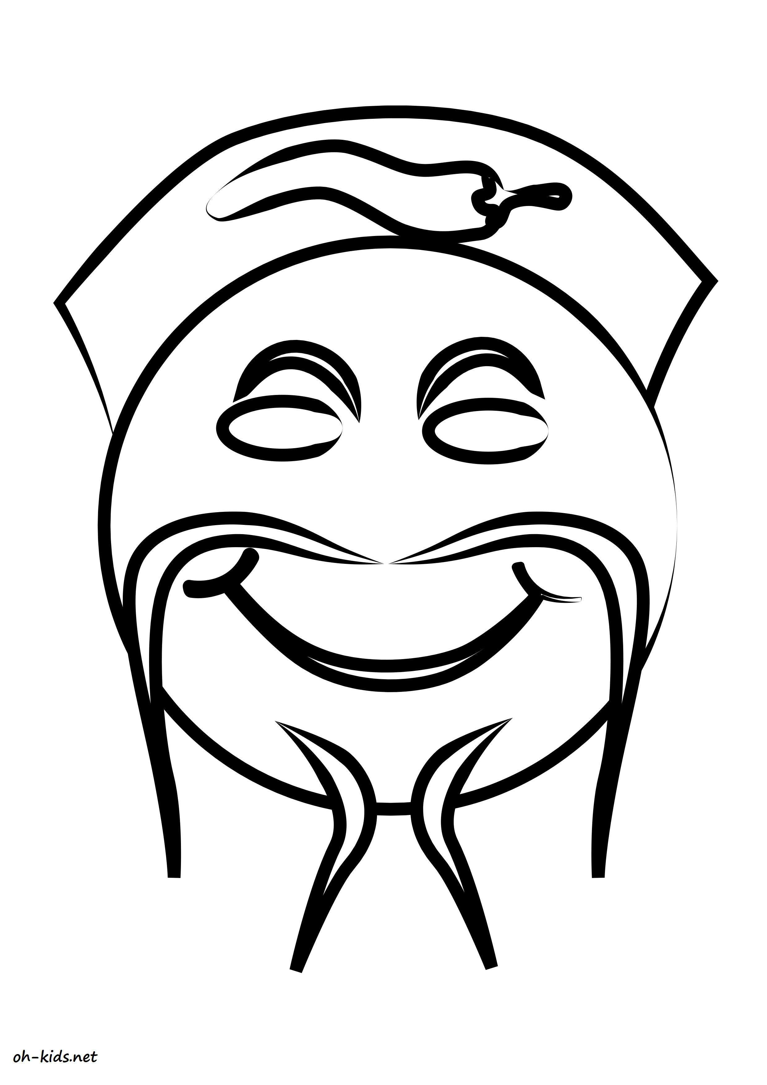 Coloriage Smiley.Dessin 759 Coloriage Smiley A Imprimer Oh Kids Net