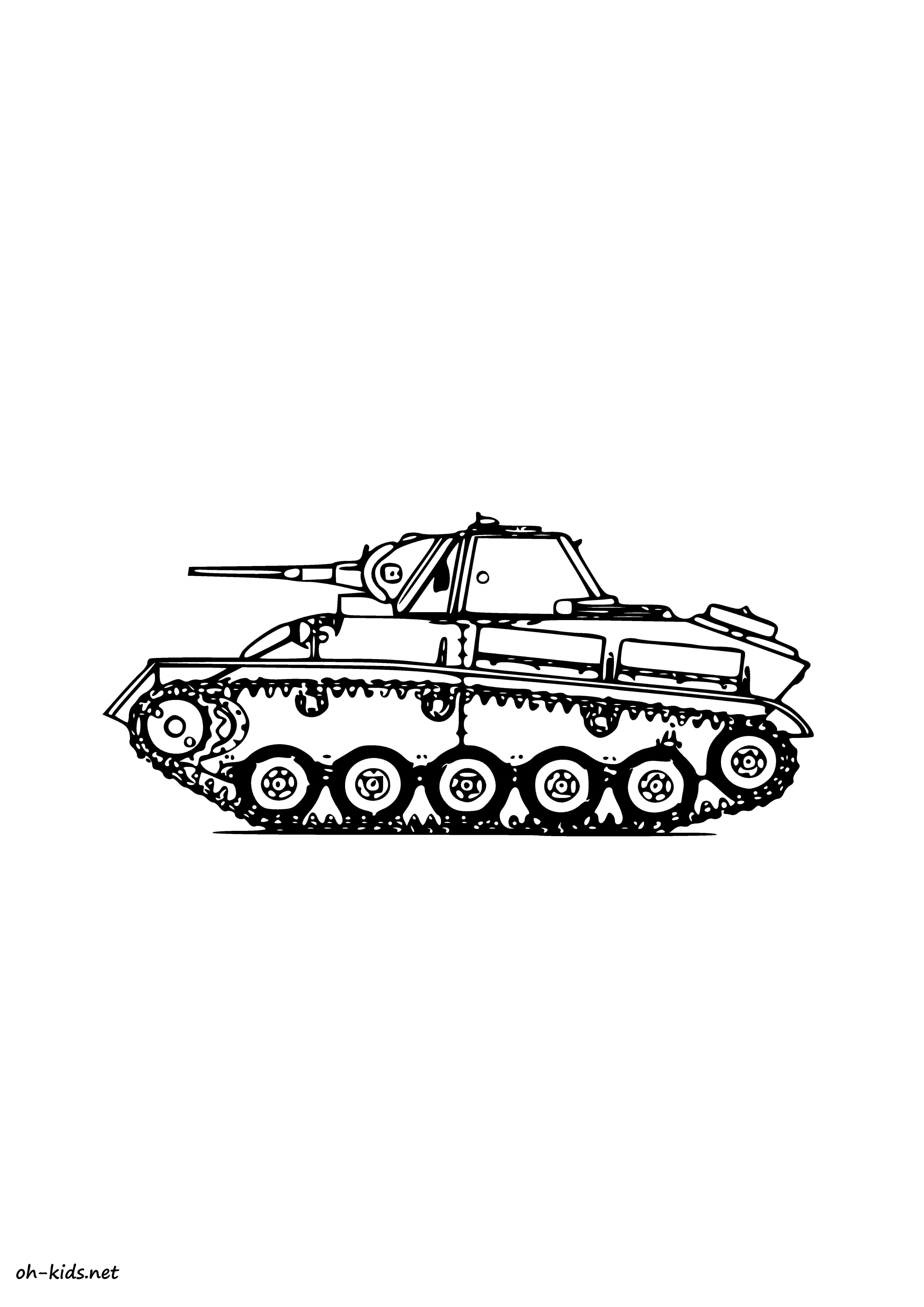 Dessin 306 coloriage tank imprimer oh - Coloriage de tank ...